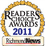 Paesano's Italian Restaurant Steveston Readers' Choice Award 2011